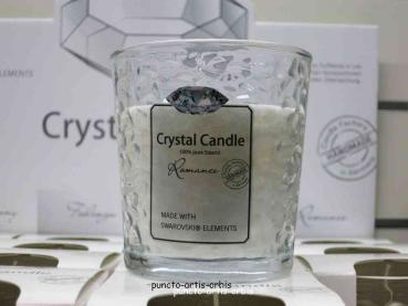 Duftkerze Crystal Candle, Duft Romance