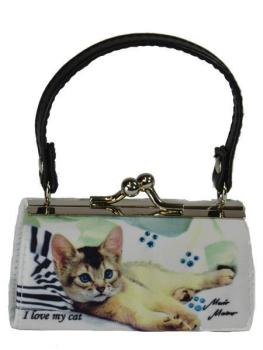 MiniBag Katze color, Miss Kitty, Mario Moreno, 13413