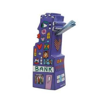 Spardose, My Pointy Piggy Bank, James Rizzi