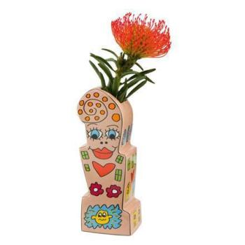 Vase Flowers For My Girl, James Rizzi