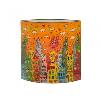 Lampe City Sunset, James Rizzi