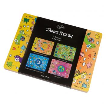 Platzsets Pop Art, Set, James Rizzi
