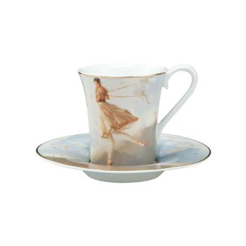 Espressotasse Tuesdays Child, Michael Parkes, Goebel Porzellan