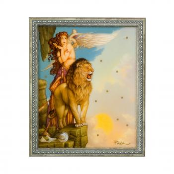 Lion's Return, Wandbild, Michael Parkes, Artis Orbis