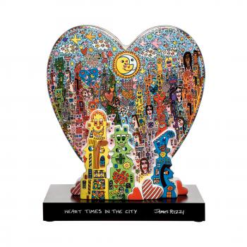 Heart Times in the City, Porzellanfigur, James Rizzi, Goebel