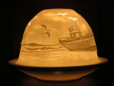 Dome Light Windlicht 32808, Fischkutter