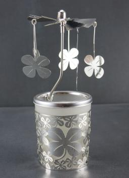 Glas Karussell Lucky Clover
