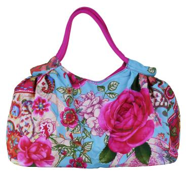 Shopper La Rose, Strandtasche, Kollektion Flowers
