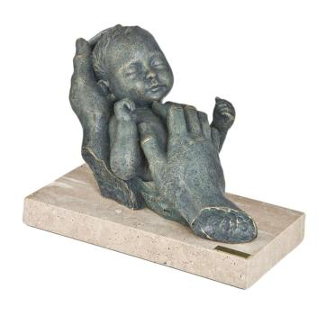 Angeles Anglada Skulptur Dreaming with Mum, Limited Edition