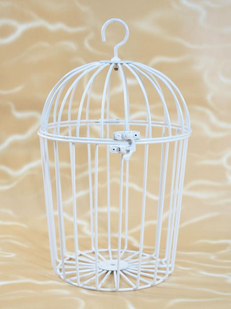 Vogelk fig metall dekoartikel wei k gler geschenke for Dekoartikel metall
