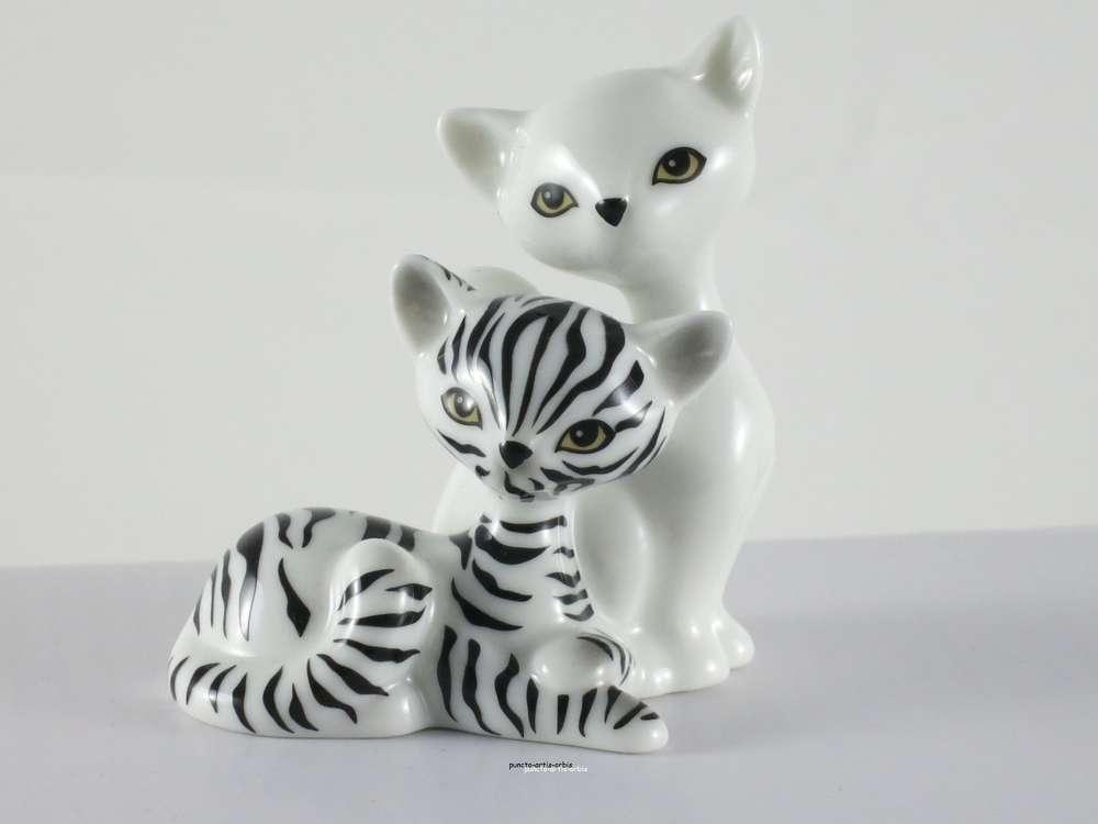 Mini Kitties in Love in der Farbe zebra, Kitty de luxe